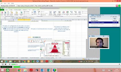 Modalidad webinar curso pmp